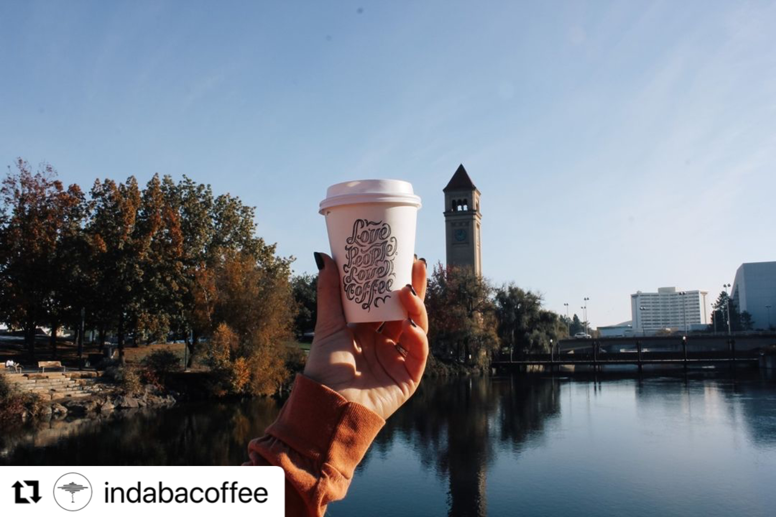 We're offering daily $1 coffee to thousands across our network
