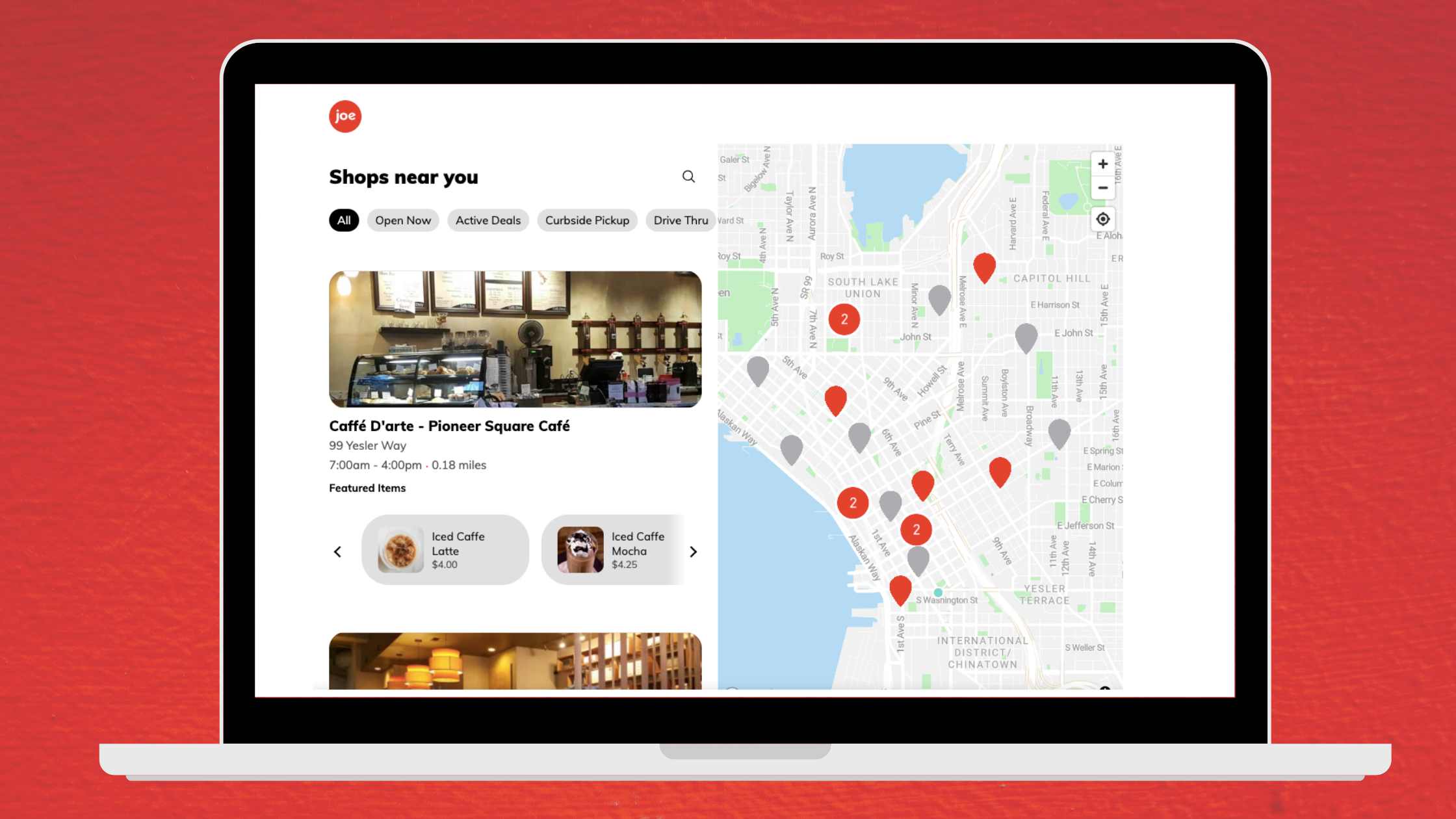 An Enhanced Web Ordering Experience